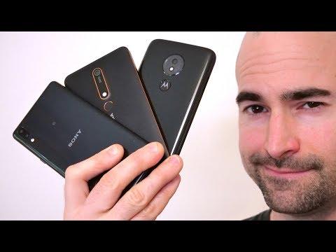 Best Budget Smartphones Under £200/$200 (2019)