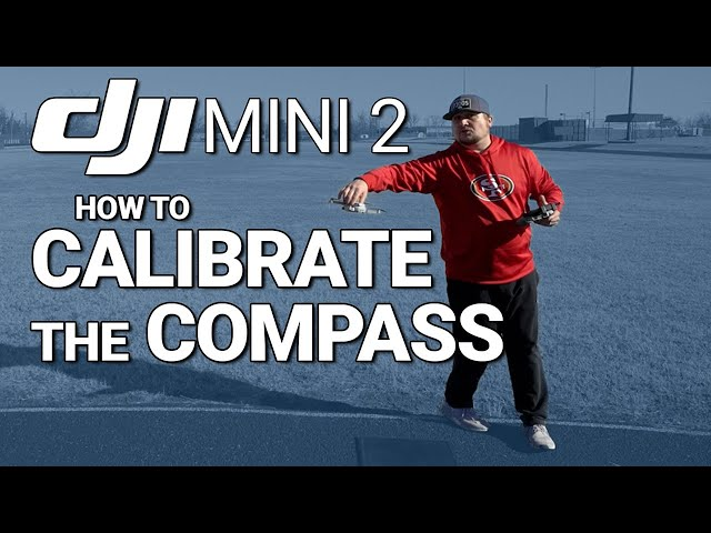 DJI Mini 2 / How to CALIBRATE the COMPASS! (Tutorial)