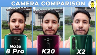 Realme X2 vs Redmi K20 vs Redmi Note 8 Pro: camera comparison