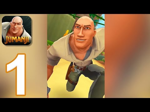 Jumanji: Epic Run - Gameplay Walkthrough Part 1 (iOS, Android)