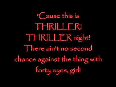 Michael Jackson's Thriller! ( 6 Minutes! + Lyrics!)