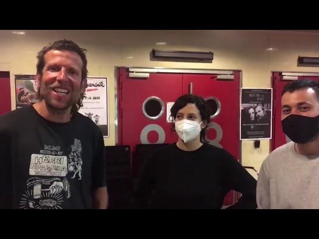 Documistan (8): Entrevistes Mostra Resistències/Después de las ocho /documental Galathea al Infinito