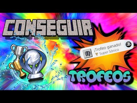 Trofeo SUPER SONICO/Super Sonic (Fácil Rápido) Minecraft:ps3/ps4/psvita/xbox360/one/wiiu)