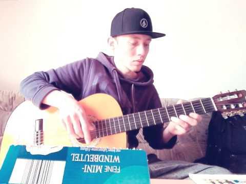 Happy Birthday auf Gitarre lernen leicht