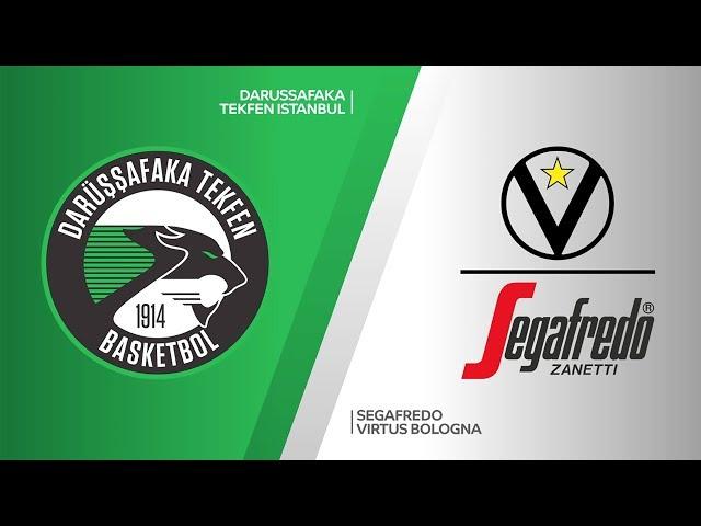 Darussafaka Tekfen Istanbul - Segafredo Virtus Bologna Highlights | 7DAYS EuroCup, T16 Round 6