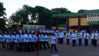 """Desfile del Cuerpo de CADETES de la Academia Militar """"Francisco Solano Lopez"""""""