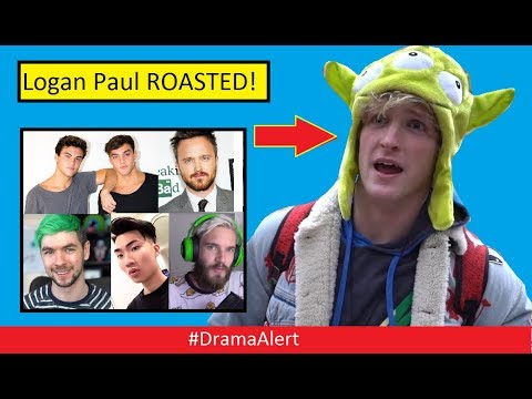 Logan Paul ROASTED by Dolan Twins! #DramaAlert RiceGum , PewDiePie , Jacksepticeye  & Much More!
