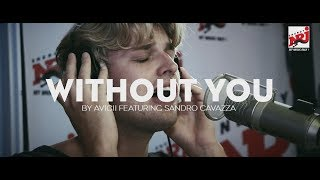 "Acoustic version of ""Without you"" by Avicii performed by Sandro Cav..."