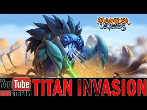 Monster Legends | TITAN INVASION | Ixofex | First-Look Live Stream | Attacking Ixofex