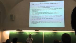GNU Cauldron 2012, Prague, talk4: Part 1/2