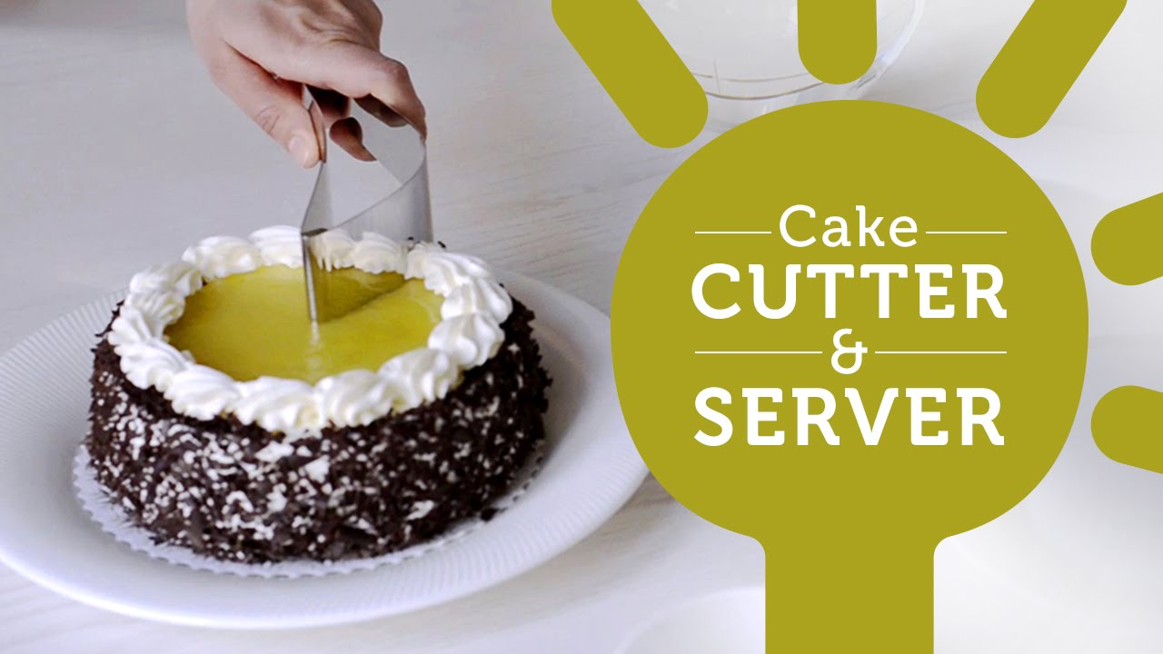 How to Easily Serve Cake with the Stainless Steel Cake Cutter and ...