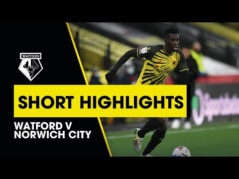 Watford Norwich Goals And Highlights