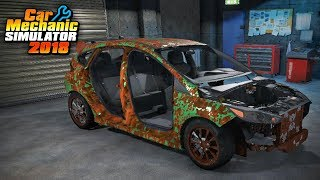 Car Mechanic Simulator - Restoration Garage 4 - Ford Focus RS