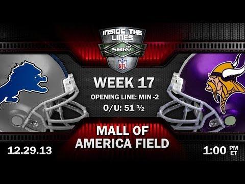 Detroit Lions Vs Minnesota Vikings NFL Week 17 Preview | NFL Picks With Al McMordie And Peter Loshak
