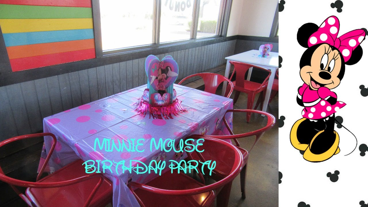 Minnie Mouse Birthday Party Ideas Gift Ideas For A 2 Year Old Youtube