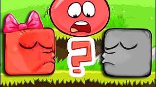 - ЗОМБИ ПРЕВРАТИЛИ КРАСНЫЙ ШАР В КВАДРАТ Несносный Шарик Plants vs zombies Red Ball 4 Мультик дети