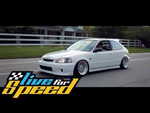 Honda Civic VTI Turbo - LFS - LuuYT