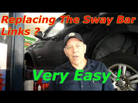 How To Replace The Sway Bar Links On A Ford Or Mercury