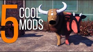 5 Cool Mods - Episode 7 - Fallout 4 Mods (PC/Xbox One)