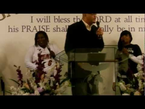 Pastor Ralph Brown Worshipping at Garment of Praise Deliverance