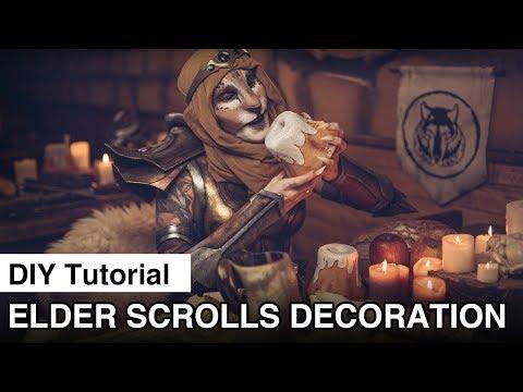 DIY Skyrim Decoration   Elder Scrolls Decoration