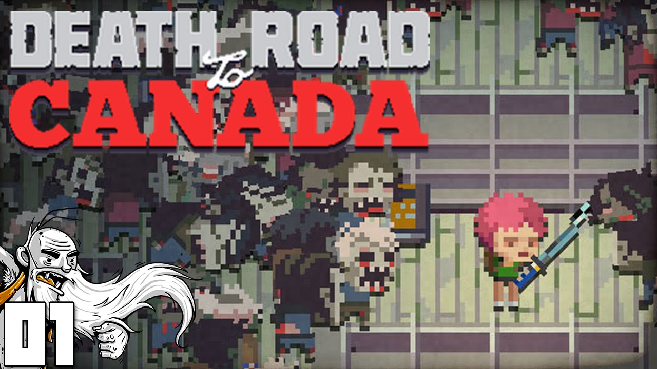 39 we 39 re heading to zombie free canada 39 death road to. Black Bedroom Furniture Sets. Home Design Ideas