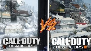 SUMMIT in Black Ops 3 vs SUMMIT in Black Ops 1 (NEW Back in Black Bo3 Maps)