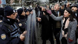 البرلمان التركي يناقش تعديل الدستور على وقع احتجاجات رافضة لتوسيع صلاحيات أردوغان