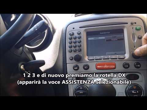 Verificare versione firmware navigatore Alfa Romeo Connect Nav Plus