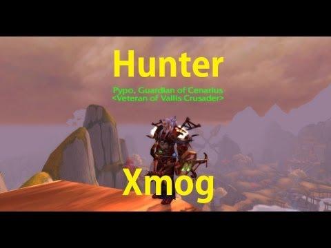 Cool Hunter Transmog - Amani Mail Xmog - Easy To Get - World Of Warcraft - Mist Of Pandaria