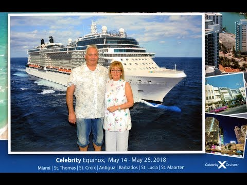 The Celebrity Equinox - 11 night Southern Caribbean cruise [4K/UHD]