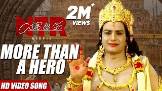 NTR, More than a hero! Song | NTR Biopic Songs | Kaala Bhairava | Balakrishna