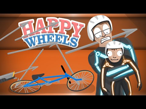 MY WORST NIGHTMARE!! - Happy Wheels