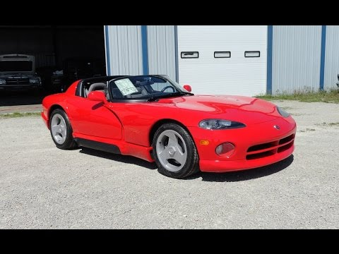 1992 Dodge Viper RT/10 with only 27 Original Miles on it! on My Car