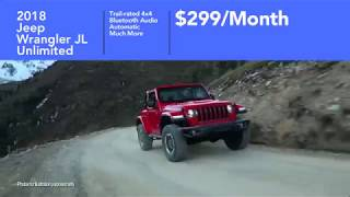 New Jeeps Under $300 a month