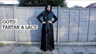 OOTD | Tartan and Lace Thumbnail
