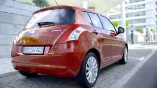 Suzuki Swift 2011 в движении.  In motion