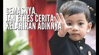 Gemasnya Jan Ethes Cerita Kelahiran La Lembah Manah, Cucu Ke-3 Presiden Jokowi