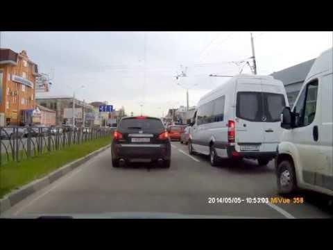Ставрополь. Поездка на автовокзал, ул. Лермонтова