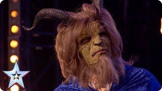 Beauty and the Beast dazzle with Disney classic! | Auditions | BGT 2018