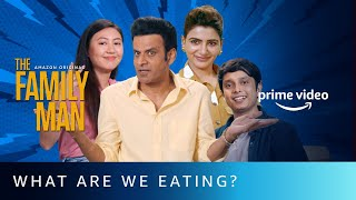 The Family Man S2 - What Are We Eating? ft. Manoj Bajpayee & Samantha Akkineni   Amazon Prime Video