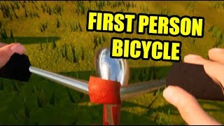 FIRST PERSON BICYCLE | Hello Neighbor Mod