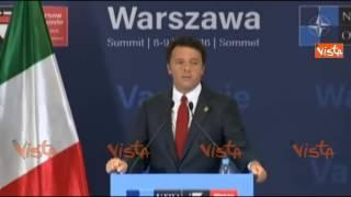 Renzi: chiacchierata con Merkel? Rilanciare Ue no Italia sotto osservazione