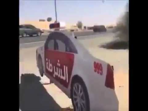Abu Dhabi Police Tactics to control traffic
