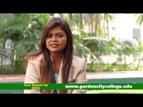 Year Round-up 2014 | Garden City College - Bangalore