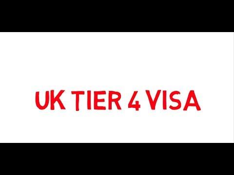 ယူေကTier 4 ဗီဇာေလွ်ာက္ထားပံု အက်ဥ္းခ်ုဳပ္; UK Tier 4 Visa for Myanmar citizens