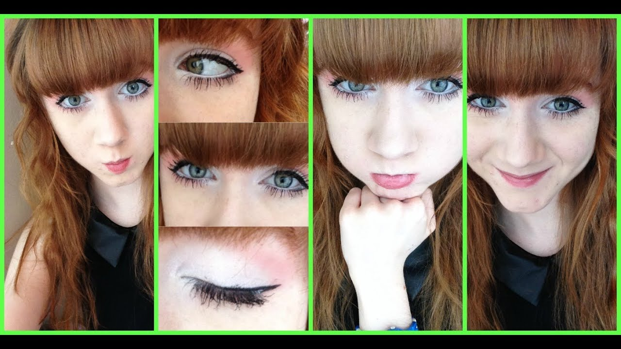 Ulzzang Makeup Before And After Circle Lenses Before A...