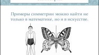 Симметрия в литературе