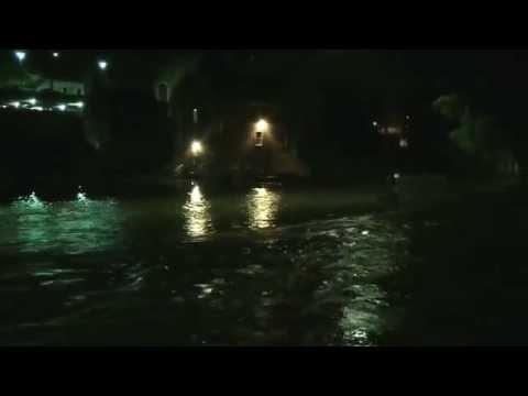 Flooding in the Colonial Industrial Quarter of Bethlehem, Pennsylvania on June 15, 2015