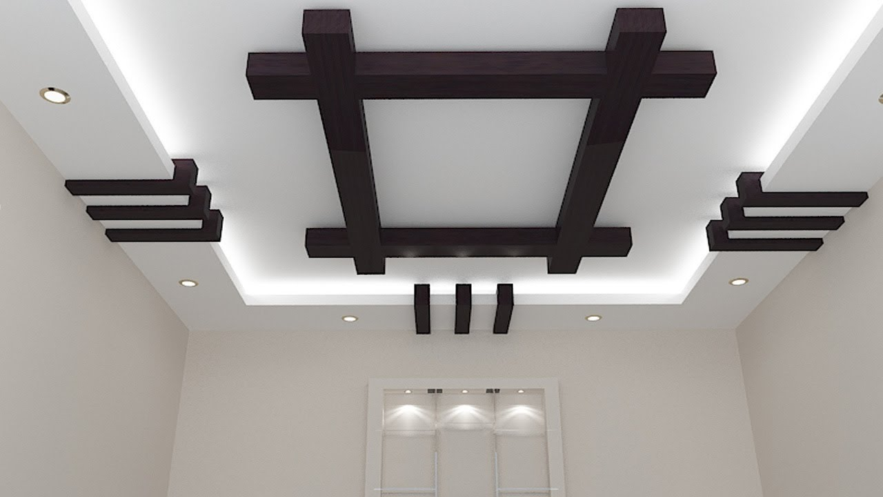 Simple Gypsum Ceiling Designs Youtube